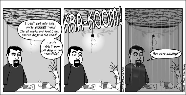 Jewish comic strip 4 corners
